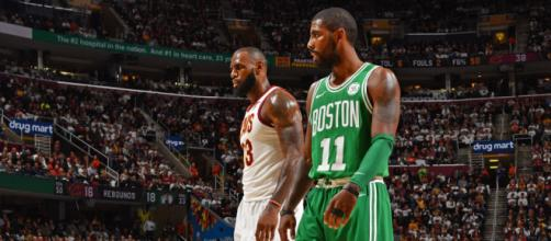 LeBron doesn't think about the C's - (Image Credit: Cavs/Youtube)