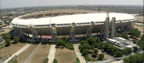 "Lo stadio ""San Nicola"" di Bari"