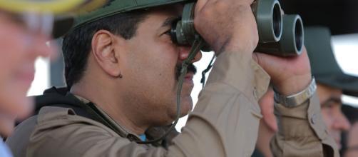Los militares venezolanos llegaron a territorio colombiano en un helicóptero
