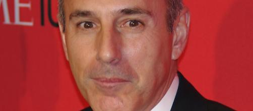 "Matt Lauer of NBC network, the latest casualty of unwanted ""SH"" in the workplace courtesy of David Shankbone via Wikimedia Commons"