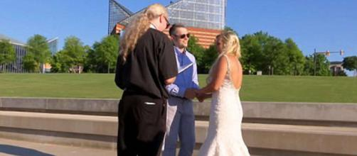 Ryan Edwards and Mackenzie Standifer tie the knot. [Image by MTV/YouTube]