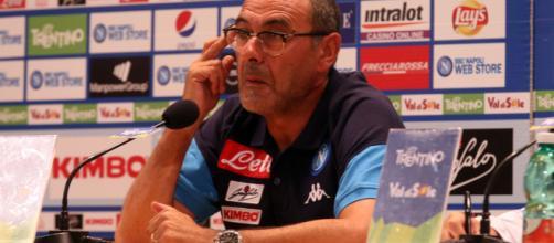 Sarri chiede l'aiuto della squadra di Guardiola per l'ultima gara del girone - corrieredellosport.it