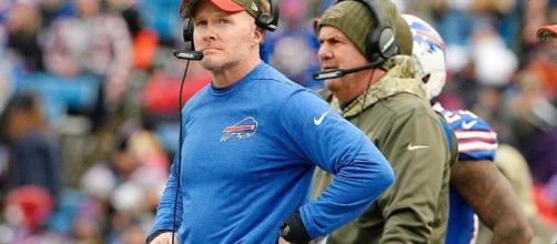 Sean McDermott explains why Buffalo Bills benched Tyrod Taylor for [Flickr]
