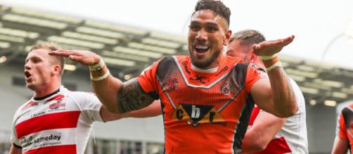 The colourful character of Jesse Sene-Lefao. Image Source: Sky Sports