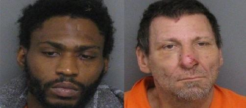 The mugshots of Preston Xavier Jack, 30, and Stephen Vance Shimmel, 48 courtesy of Sanilac County Jail.