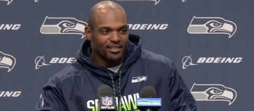 The Seattle Seahawks waived Dwight Freeney afer loss to Atlanta Falcons. - [Seattle Seahawks / YouTube screencap]