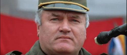 The UN tribunal in The Hague convicted Ratko Mladic on 10 of the 11 charges. [Image credit:Kraljevic/Youtube screencap]