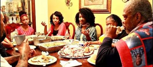 Would you pay to eat Thanksgiving dinner with your relatives? [YummyBitesTV/YouTube screenshot]