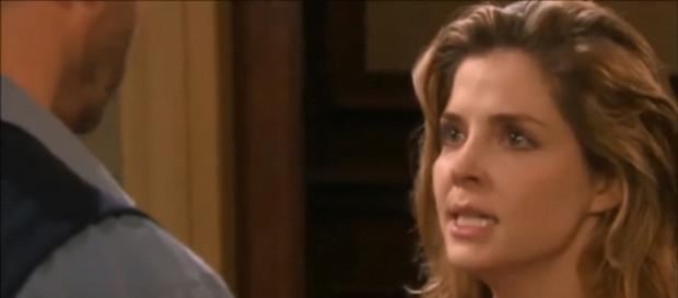 Days of our Lives' Theresa Donovan. (Image Credit: NBC/YouTube screengrab)