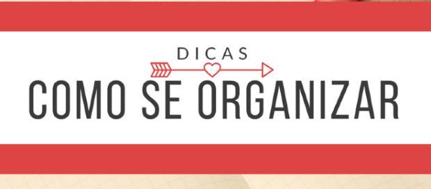 A organização faz parte de uma vida saudável