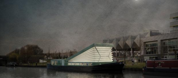 FLOATING CHURCH AND COMMUNITY HUB - DENIZEN WORKS