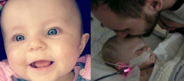 Kia Gott contraiu uma doença devastadora, e seu pai culpa o sistema de saúde britânico (Crédito: Twitter/Gail Gott)