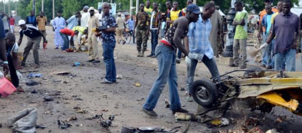 Le Nigeria meurtri par un attentat suicide