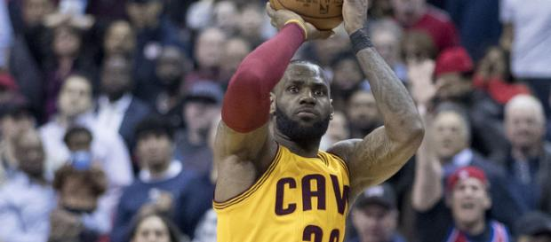 LeBron James talks about the Boston Celtics and their win streak. Image Credit: Keith Allison / Flickr