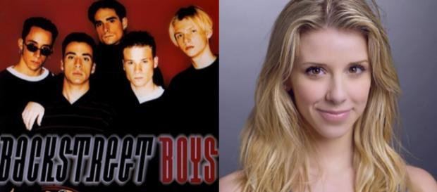 Melissa Schuman acusa integrante dos Backstreet Boys de estupro. Fotos: Divulgação.