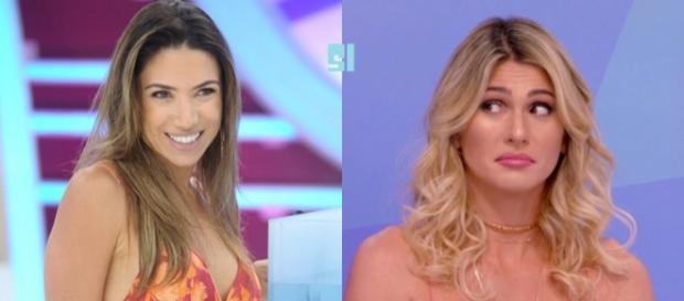 Patricia Abravanel e Lívia Andrade não se cumprimentam nos corredores do SBT