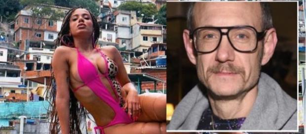 Terry Richardson esteve no Rio de Janeiro para gravar o videoclipe da cantora Anitta.