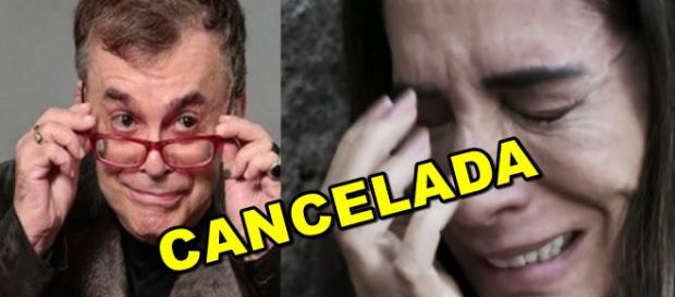 Walcyr Carrasco fica doido com notícia de cancelamento