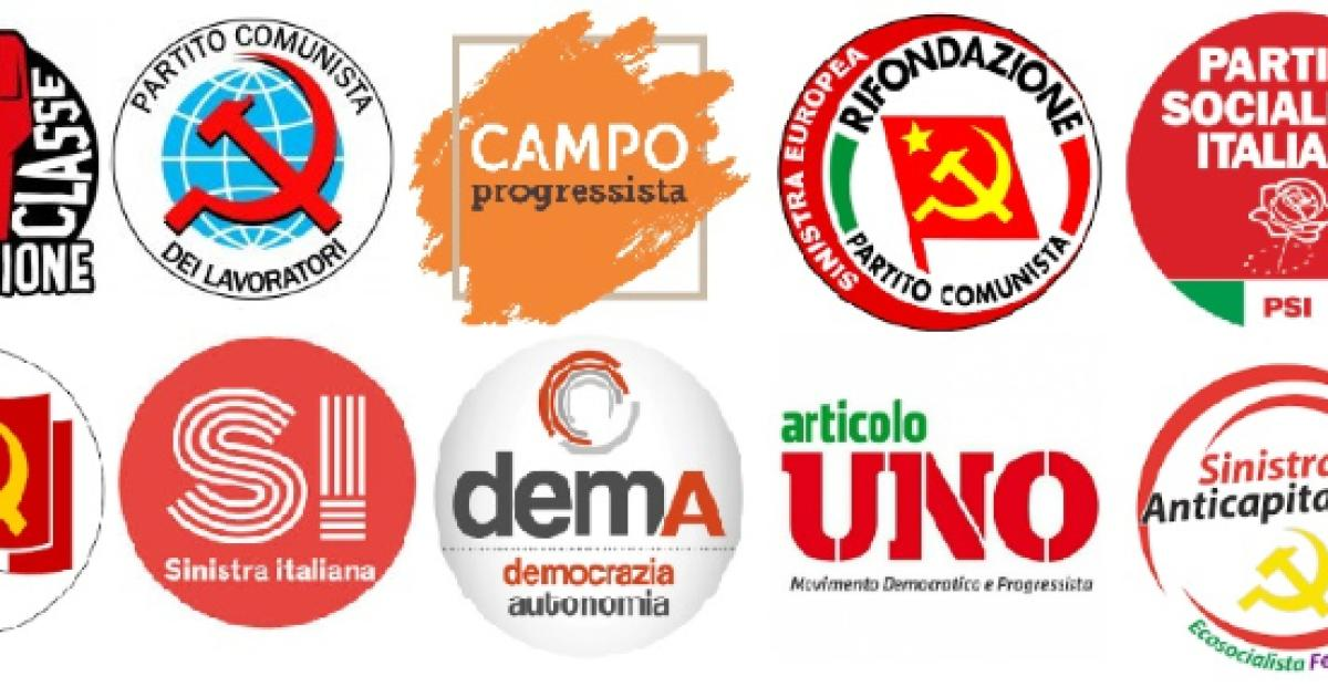 Altro che unit a sinistra del pd ci sono almeno 20 for Elenco politici italiani