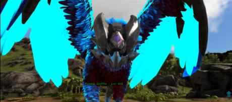A Prome Griffin in 'ARK: Survival Evolved.' - [YouTube/KingDaddyDMAC]