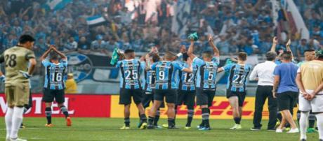 Grêmio bate o Lanús e precisa apenas de um empate para ser tri da Libertadores / Foto: Facebook Oficial Grêmio FBPA