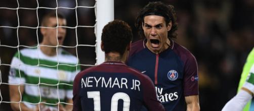 Cavani et Neymar les grands artisans de la gala parisiennne.