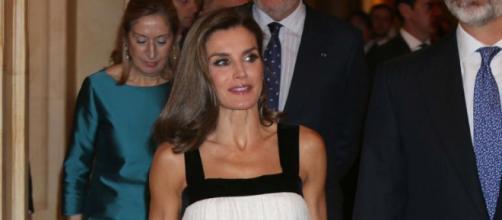 Fuente: GTRESONLINE. La reina Letizia en la 34 edición de los Premios Francisco Cerecedo