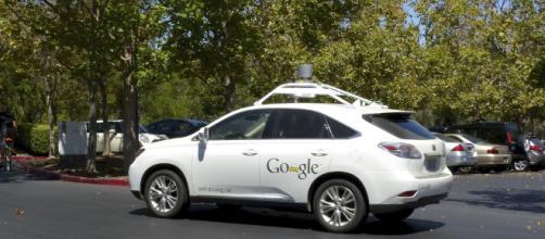 Google's newest self-driving car- Image credit Roman Boed | Flickr