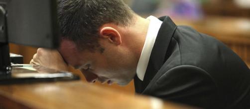 Pistorius en uno de sus juicios