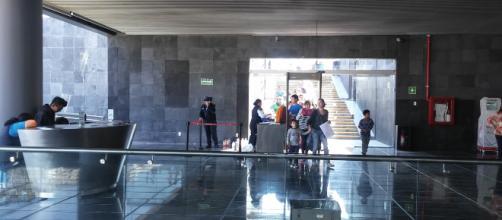 Recién inaugurado el vestíbulo que da acceso a las ruinas del Templo Mayor.