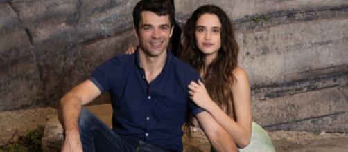 Valentina Bellè e Luca Argentero
