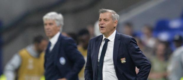 Bruno Genesio n'en peut plus de l'attitude de l'attaquant sur le terrain (DR).
