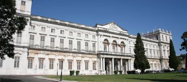 O Palácio Nacional da Ajuda, em Lisboa.