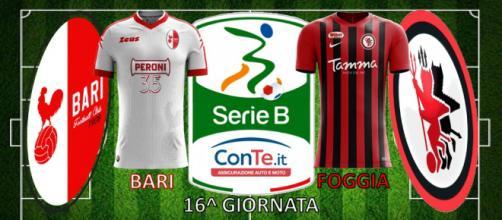 """Bari e Foggia daranno vita al """"Derby d'Apulia"""" nella 16^ giornata del campionato di Serie B ConTe.it"""