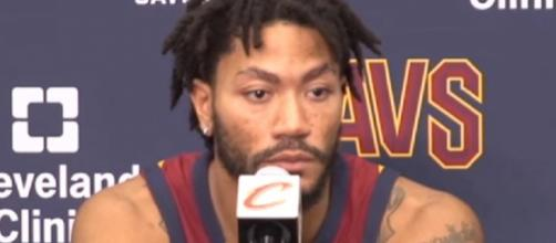 Derrick Rose is averaging 14.3 points and 2.6 rebounds this season (Image Credit: cleveland.com/YouTube)