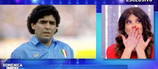 Diego Armando Maradona e Carmen Di Pietro
