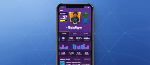 """Fortnite"" Battle Royale mobile companion app concept. Image Credit: Dan Phillips / Twitter"