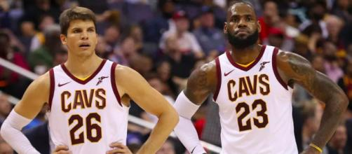 Korver talks playing for/against Bron - (Image credit : YouTube/Cavs)