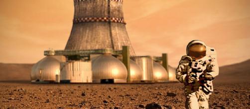Mars Colony [image courtesy D Mitriy wikimedia commons]