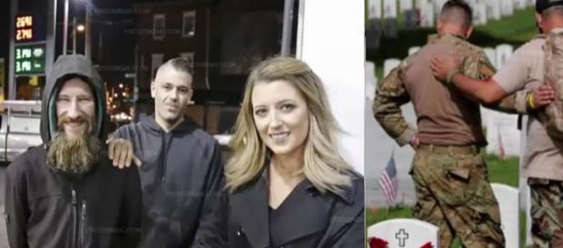 A homeless vet gave a woman his last $20, so she crowdfunded and raised $290K for him [Image credit: BREAKING NEWS TODAY/YouTube]