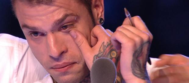 Fedez, protagonista di un acceso diverbio nell'ultima puntata d X Factor.
