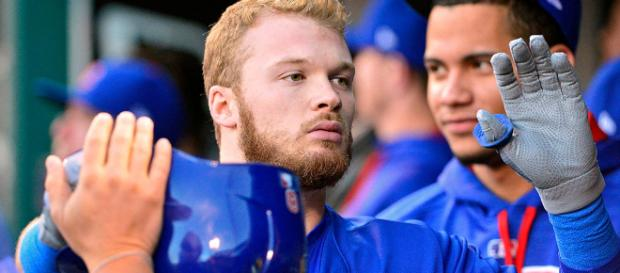 Ian Happ could be on a team besides the Chicago Cubs in 2018. - [Image via NBC Sports Chicago/Youtube]