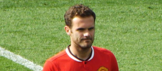 Manchester United midfielder Juan Mata during a match against Leicester City in the past. (Image credit: Ian Johnson/Flickr)