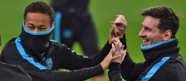 Messi y Neymar se entrenan con el grupo   Marca.com - marca.com