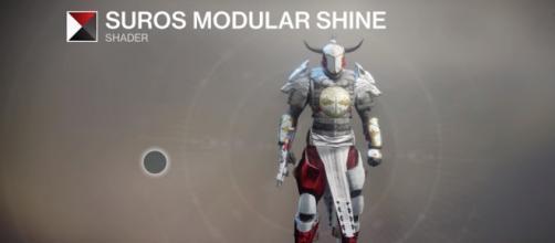 A 'Destiny 2' shader - (Image Credit: xHOUNDISHx/YouTube screencap)