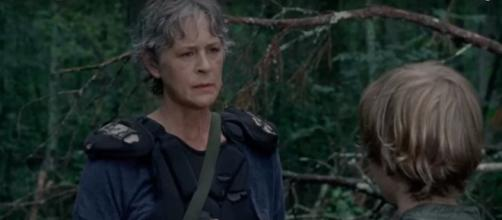 Carol and Henry in 'TWD' 8x06 / [Photo via Daryl Dixon, YouTube screencap]