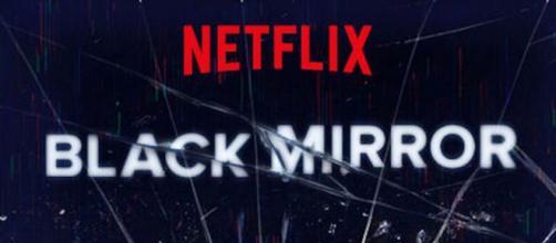 il logo della serie Netflix Black Mirror