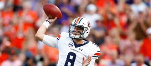Jarrett Stidham leads Auburn into the 2017 Iron Bowl. [Image via Sport My Life/YouTube]