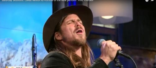 Lukas Nelson & Promise of the Real deliver pleasing and passionate 'Saturday Sessions' set. [CBS This Morning cap/YouTube]