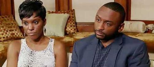 'Married at First Sight' stars Sheila Downs and Nate Duhon are divorcing. - [Image: USA News/YouTube screenshot]